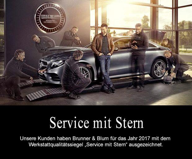 """""""Service mit Stern""""."""